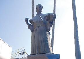 小松帯刀(こまつたてわき) 銅像