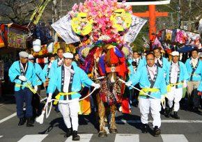 初午祭 鈴かけ馬踊り