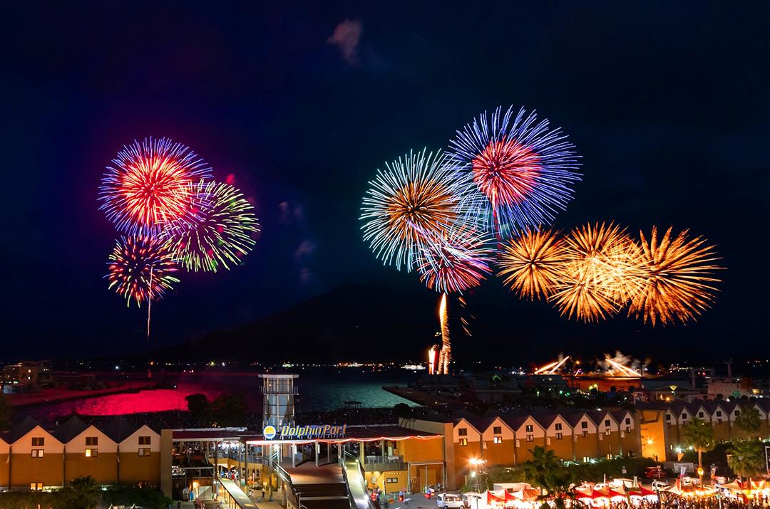 【鹿児島市制130周年記念】第19回かごしま錦江湾サマーナイト大花火大会02