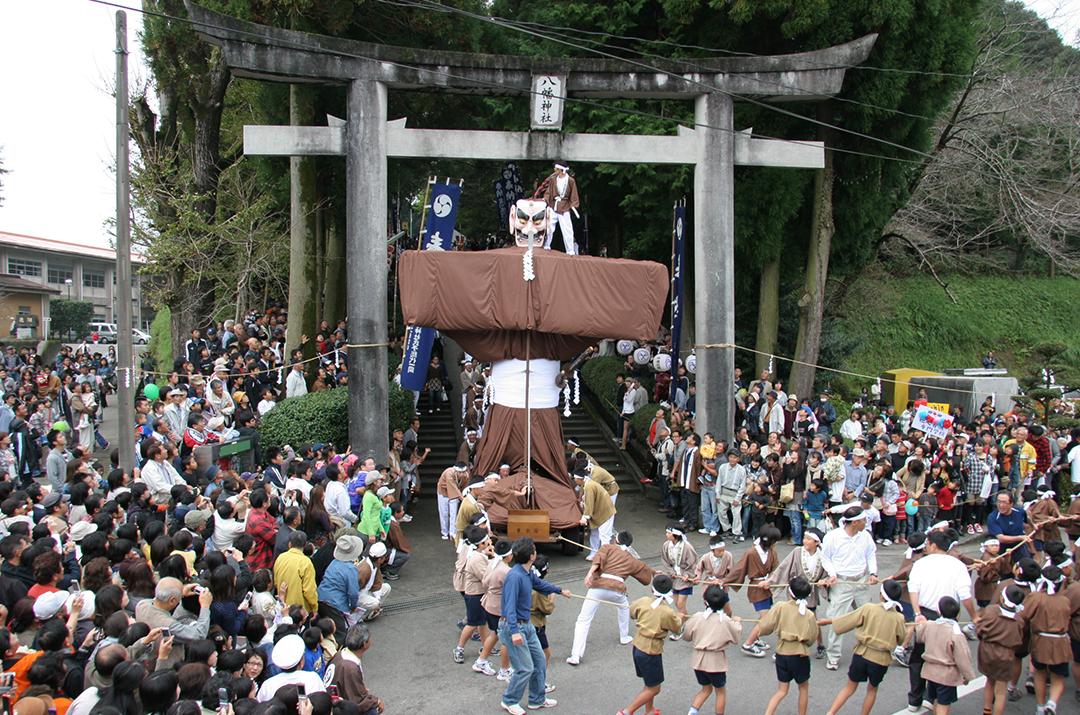 岩川八幡神社の弥五郎どん祭り01