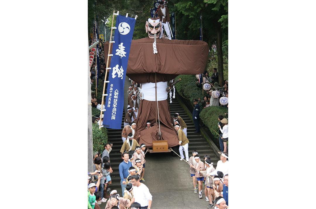 岩川八幡神社の弥五郎どん祭り03