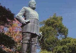 西郷隆盛銅像(西郷銅像前 撮影ひろば)
